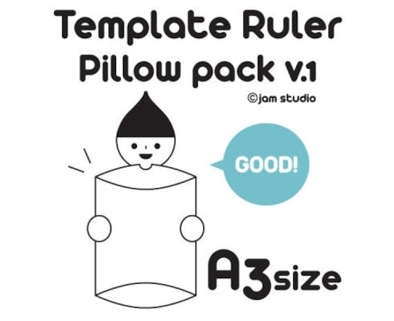 Envelope MAKER - Pillow Pack v.1 (A3 size)