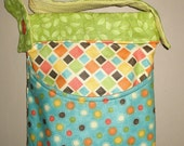 Quilted  Messenger Styled Bag - Medium