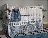 """Custom Crib Bedding Set for rachelbrooke - 2"""" bumper set"""