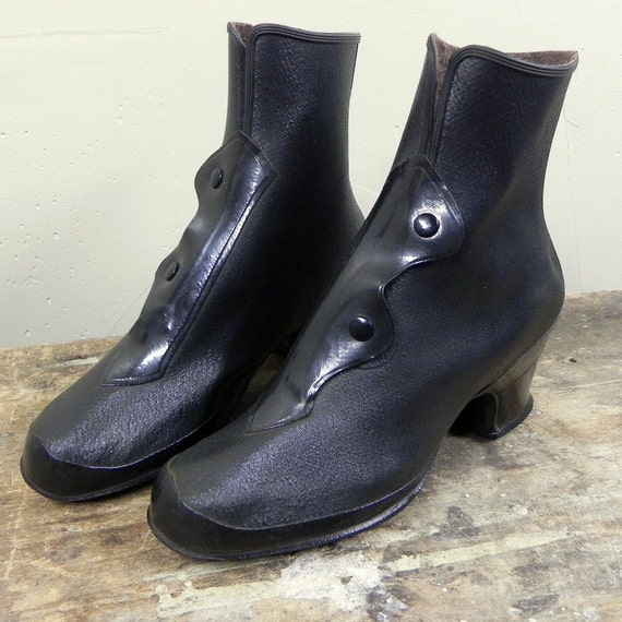 Vintage 1940s Galoshes For Women By Egvintage On Etsy
