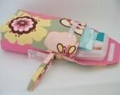 Pink Kleo Diaper Wristlet