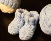 Beanie Hat and Bootie Set - Newborn/Infant