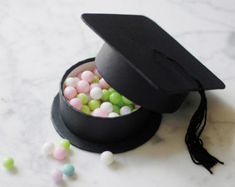 Set of 12-Class of 2011 Graduation Hat Party Favor GIFT BOXES