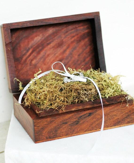 Wooden Ring Box / Celtic Wedding
