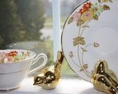 Tea cup and saucer  Grosvenor bone china Jackson and Gosling