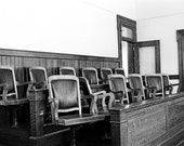 Hung Jury - Photograph matted to 11 x 14