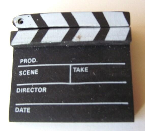 1980s Movie Slate Board Novelty Eraser