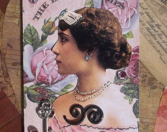 Victorian Times  Another Victorian  Artist Trading Card/ ACEO