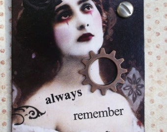 Misunderstood Gothic Artist Trading Card /ACEO