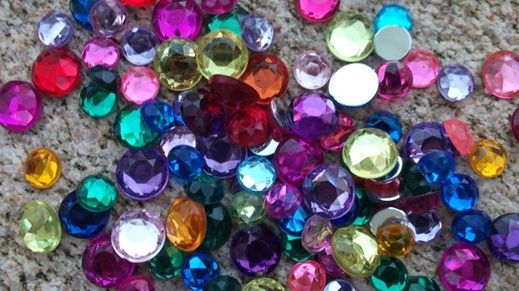Projects Assorted Rhinestones  800  Count Featured By  AlteredHead On Etsy