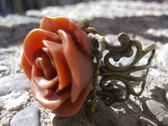 Enchanted A Rose Ring By AlteredHead On Etsy