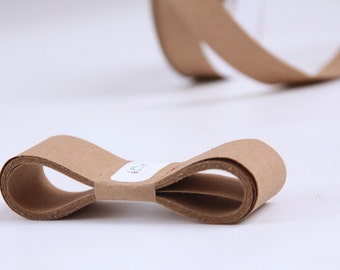 KRAFT 100 Percent Recycled Paper Ribbon 15 Yards