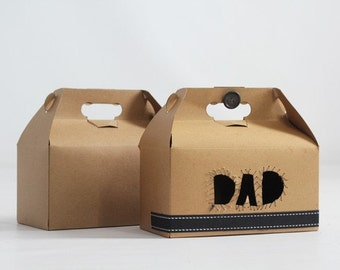 9.5x9x5  Kraft Natural Gable Gift Box lot of 21-  As Seen In Better Homes and Gardens Food Gift Magazine