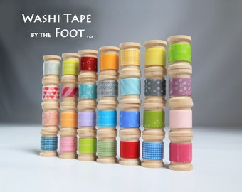 Choose Your Colors Japanese Washi Tape 30ft Choose Your Colors get up to 15 Rolls-  NEW PATTERNS check photo 2 and 3 for full list