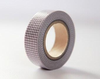 VIOLET GRID- Single Roll 15mm