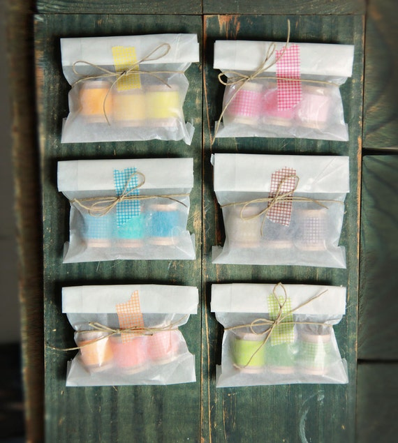 Washi Tape Trio Party Favors Set of 35