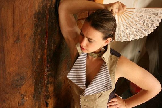 Lady Steampunk's Waistcoat