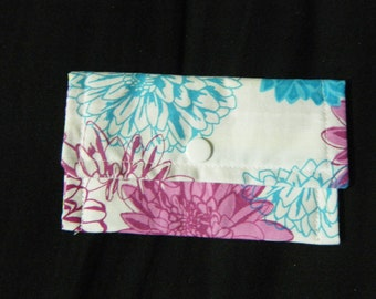 Snap Wallet Flowers