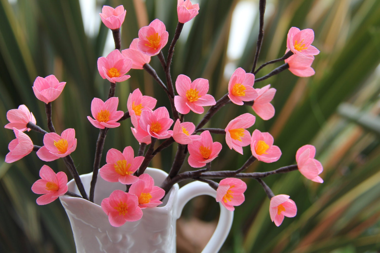 Sakura Flowers Crepe paper Flowers