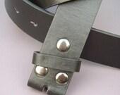 Black Snap Belt Large
