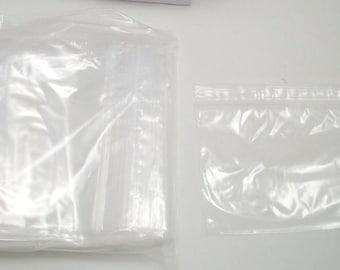 3 x 4 inch Zip Lock Bags (100)