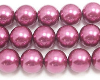 14mm Wine Glass Pearls.(approx 30 beads)