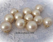 18 MM Old Stock Faux Pearls