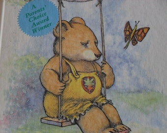 Clearance Emma's Pet Vintage Book by David McPhail With Beautiful Watercolor Pictures 1985 Parents Choice Award Winner