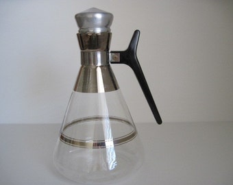 Mid Century Carafe with Top