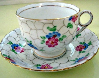 Vintage Tea Cup and Saucer Made in England
