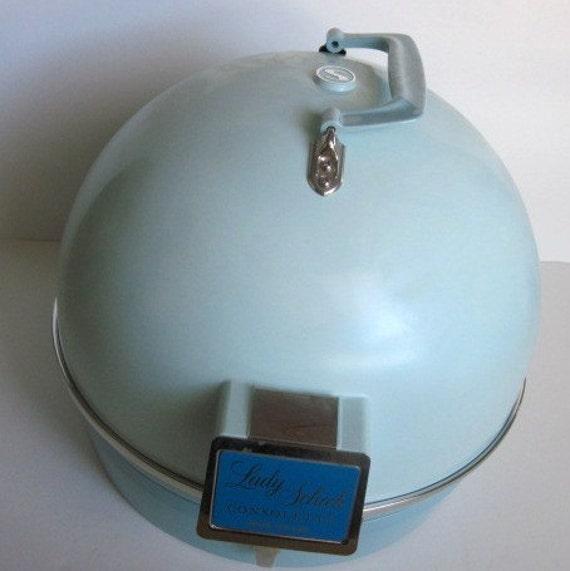 1960s Lady Schick Consolette Bubble Top Hair Dryer