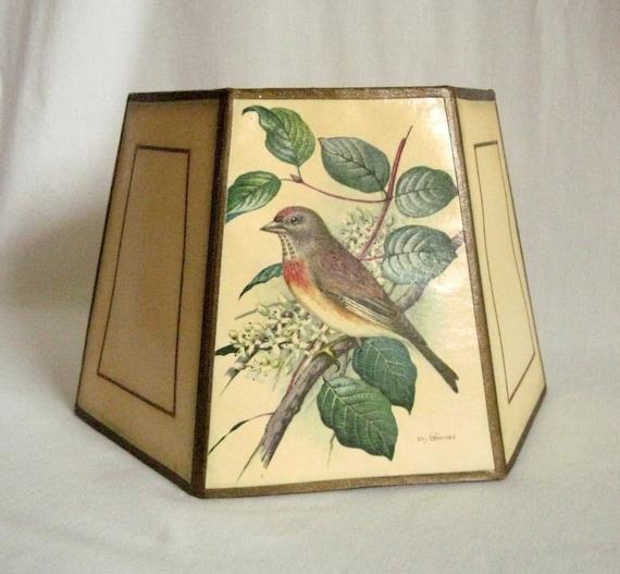 Vintage Bird Lamp 113