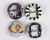 Button Pack With White Button