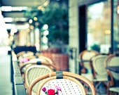 Seattle Outdoor Cafe - Bacco Bistro - 8x10 Fine Art Photograph Print