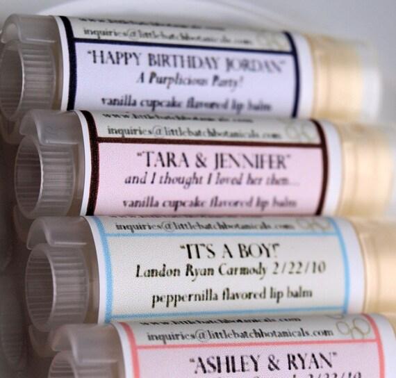 Lip Balm Party Favor Pack 25 tubes