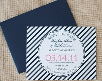 Nautical Suite Save the Date