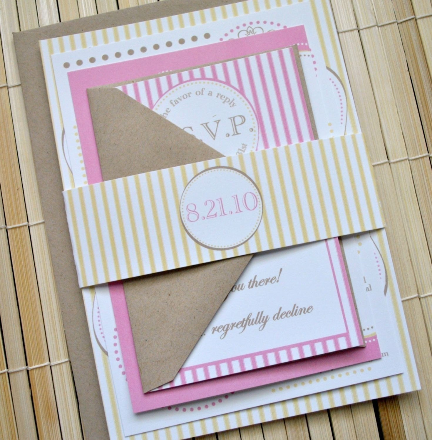 Wedding Invitation Belly Band is one of our best ideas you might choose for invitation design