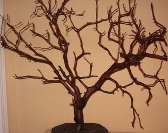 Hand Carved Manzanita Wish Tree