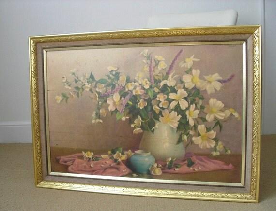 Large Old  Botanical Print