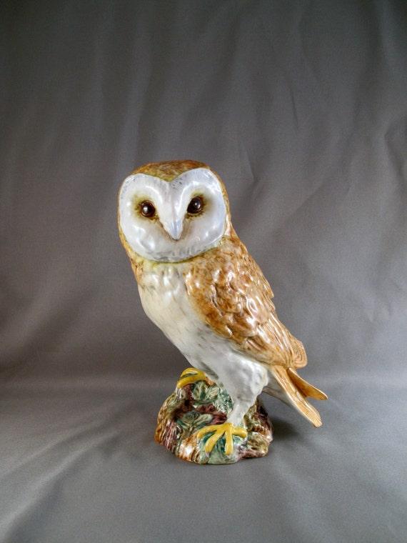 Vintage Beswick 1046 Owl, Large