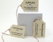 Custom Etsy Tags for Your Etsy Shop Category Vintage Handmade or Supply Shop Tags