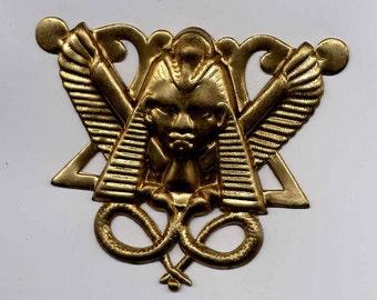 4  Egypt Pharoah Head stampings