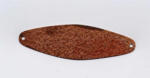6 Copper Plaque Brass Metal Stampings
