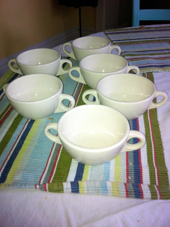 Homer Laughlin Best China Soup Consomme Bowls