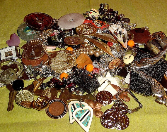 Big destash lot of jewelry making supplies and goodies over 200 pieces