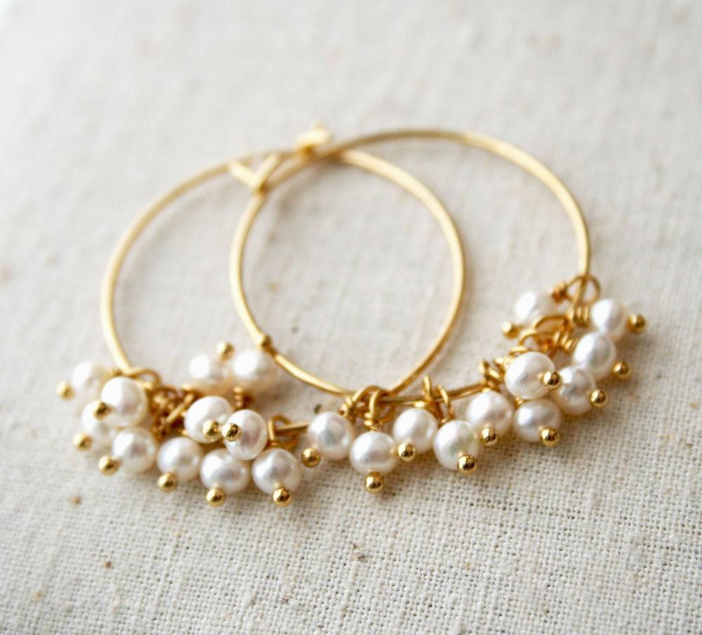 indian gold earrings hoops
