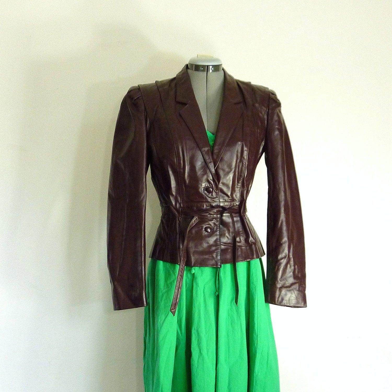 clearance sale vintage 80s oxblood brown berman s leather