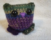 Amigurumi Owl Toy  FREE SHIP to USA