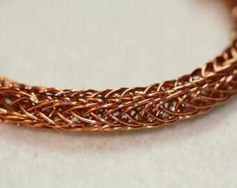 Childrens Viking Weave bracelet Copper