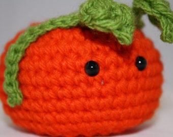 Halloween amigurumi pumpkin